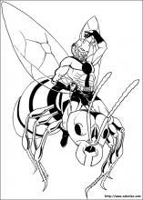 dessin à colorier ant-man