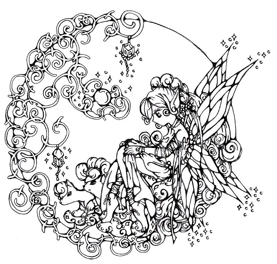 Coloriage anti stress adulte en ligne - Coloriage anti stress gratuit ...