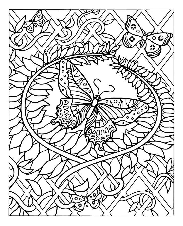 20 dessins de coloriage Anti Stress Gratuit A Imprimer à imprimer