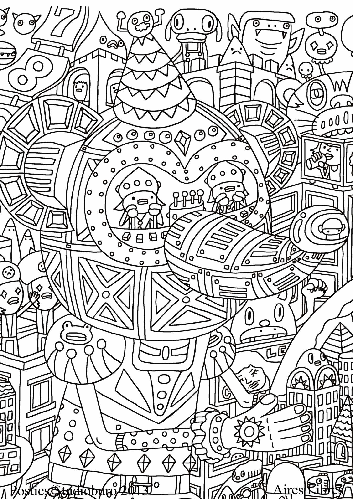 19 dessins de coloriage anti stress gratuit imprimer - Image anti stress ...
