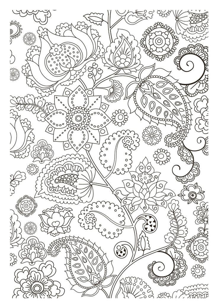 voir le dessin - Coloriage Anti Stress Hachette