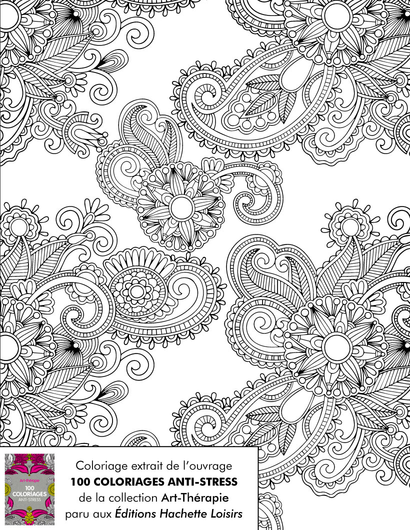 100 coloriage anti stress pdf - Coloriage therapie ...