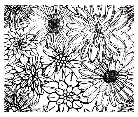 coloriage à dessiner anti stress tete de mort