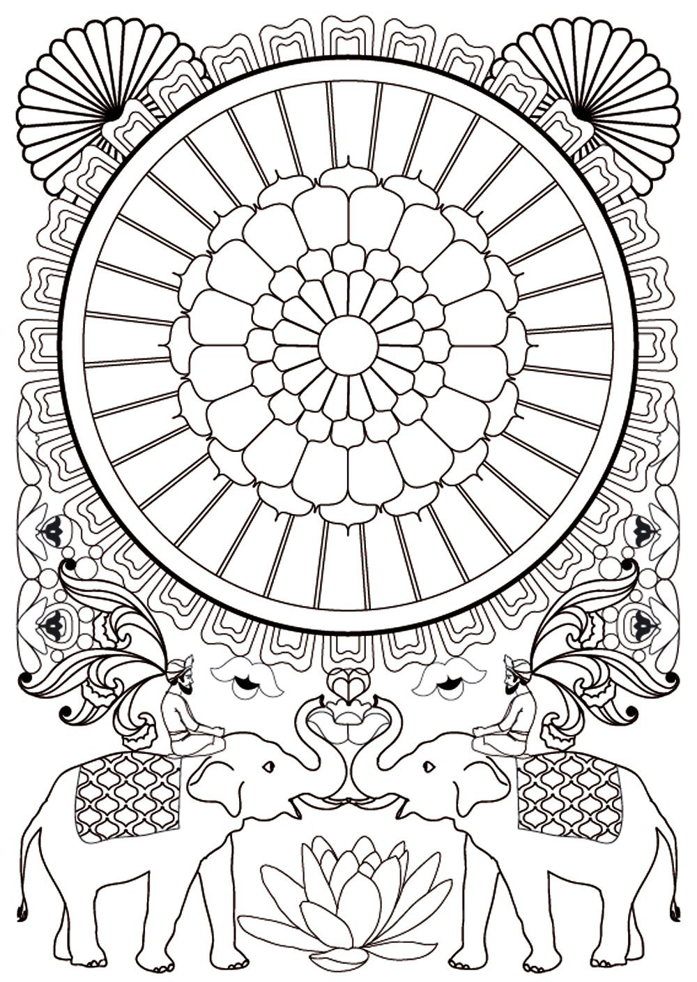 coloriage dessiner anti stress matriel - Coloriage Anti Stress Imprimer