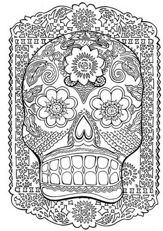 coloriage à dessiner anti stress jardin extraordinaire
