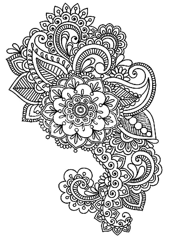 Mandala colorier anti stress - Anti coloriage ...