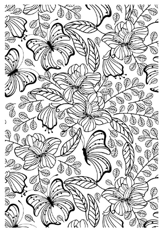 100 dessin anti stress blog - Coloriage anti stress a imprimer ...
