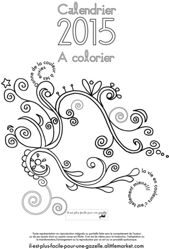 coloriage à dessiner anti stress à imprimer chat