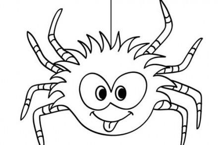 91 Dessins De Coloriage Araignée Halloween à Imprimer
