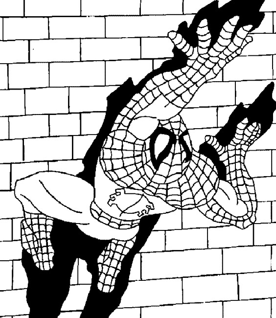 93 dessins de coloriage araign e spiderman imprimer - Dessin a imprimer de spiderman ...
