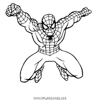 93 dessins de coloriage araign e spiderman imprimer - Coloriage araignee ...