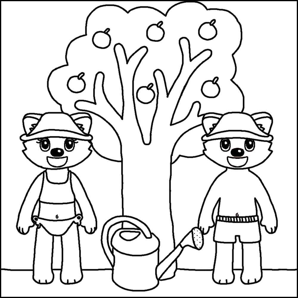 97 dessins de coloriage arbre 4 saisons imprimer - Coloriage saisons a imprimer ...
