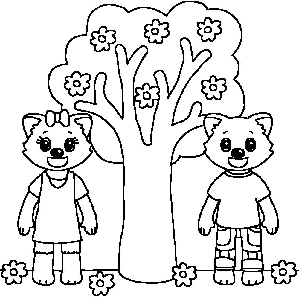 97 dessins de coloriage arbre 4 saisons imprimer - Arbre coloriage ...