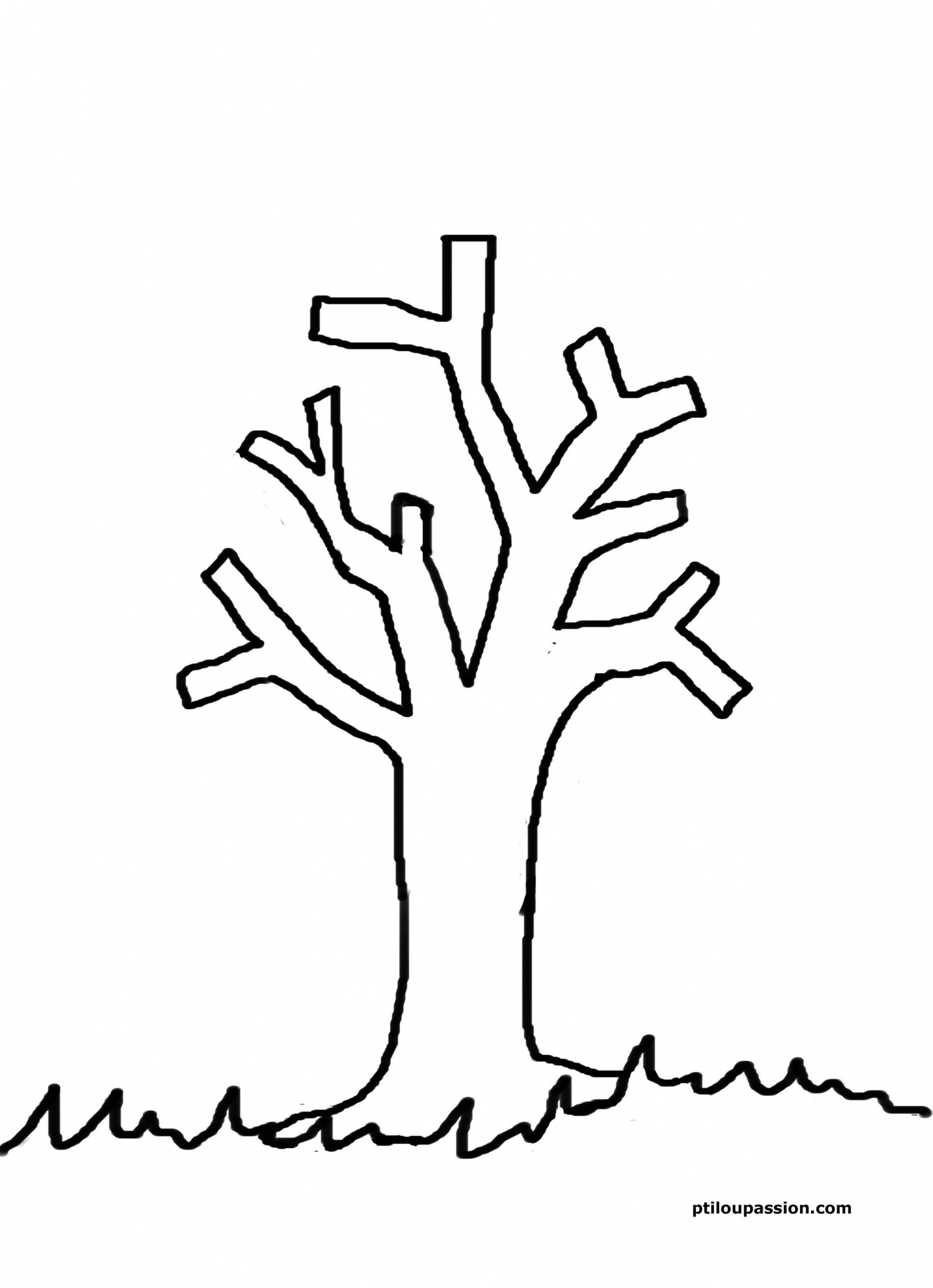 98 dessins de coloriage arbre automne imprimer - Arbre d automne dessin ...