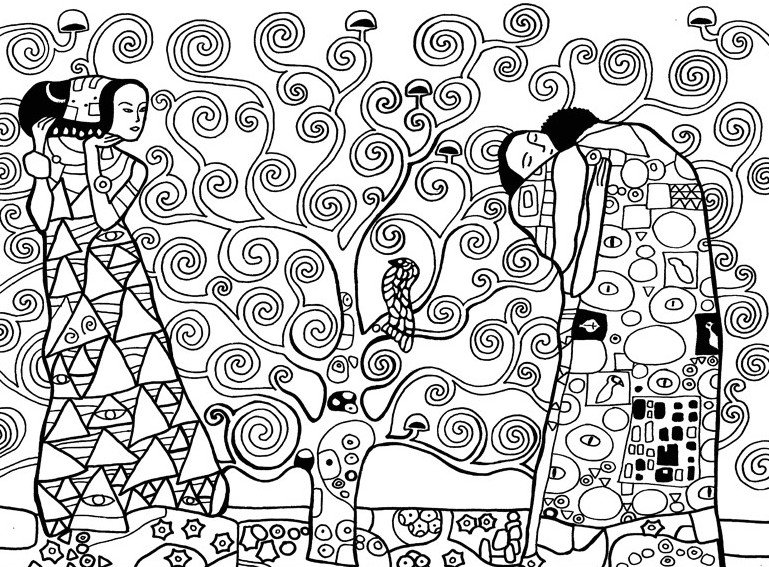 94 dessins de coloriage arbre de vie imprimer. Black Bedroom Furniture Sets. Home Design Ideas