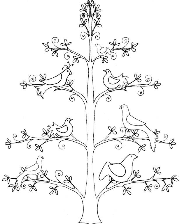 94 dessins de coloriage arbre de vie imprimer - Arbre a colorier ...