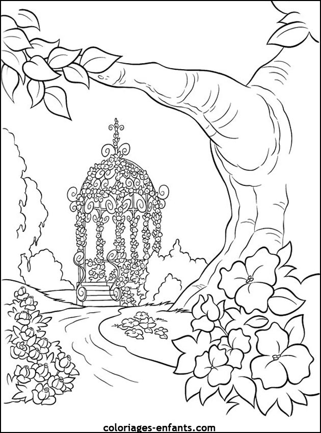 94 dessins de coloriage Arbre De