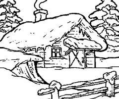 97 dessins de coloriage arbre hiver imprimer - Dessin a calquer ...