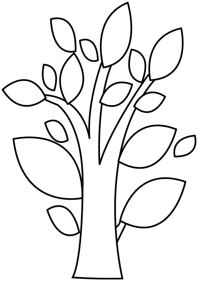 Coloriage Arbre Feuille.Coloriage Feuille Arbre Imprimer