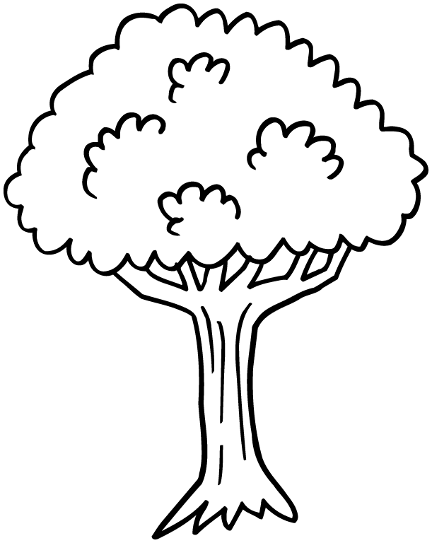117 dessins de coloriage arbre imprimer. Black Bedroom Furniture Sets. Home Design Ideas