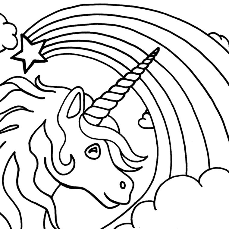 dessin arc en ciel des couleurs