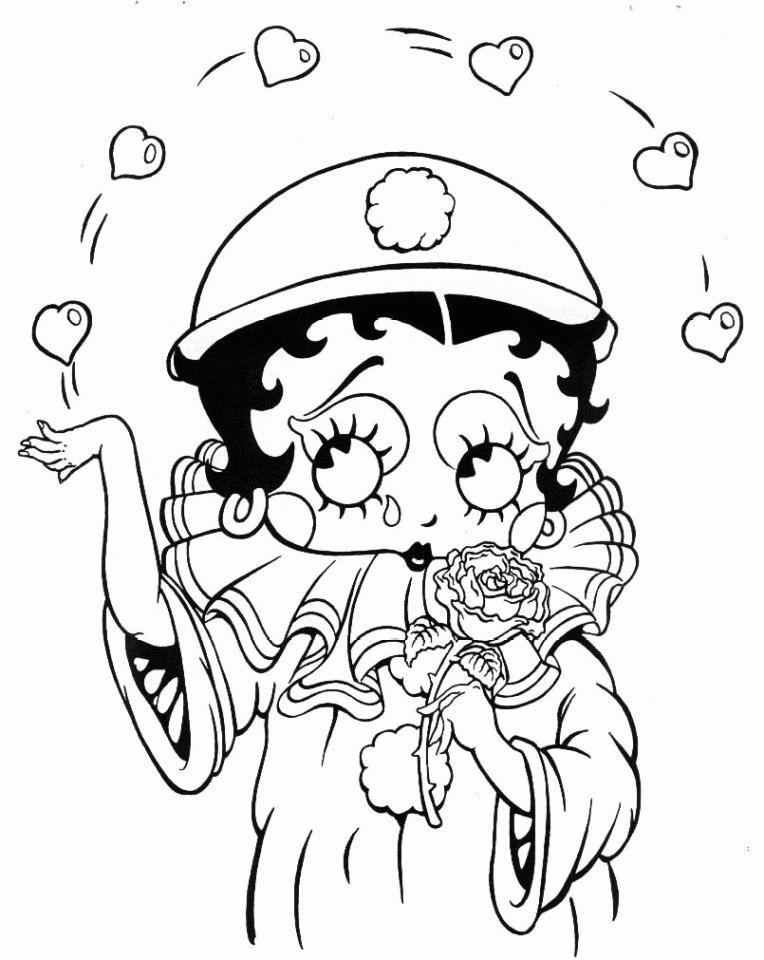 dessin arlequin à imprimer gratuit