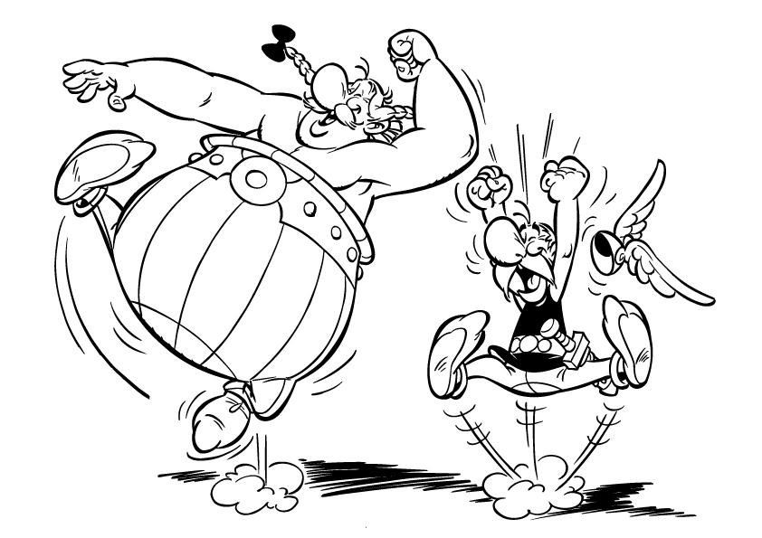 Coloriage asterix et obelix gratuit - Image de dessin anime gratuit ...