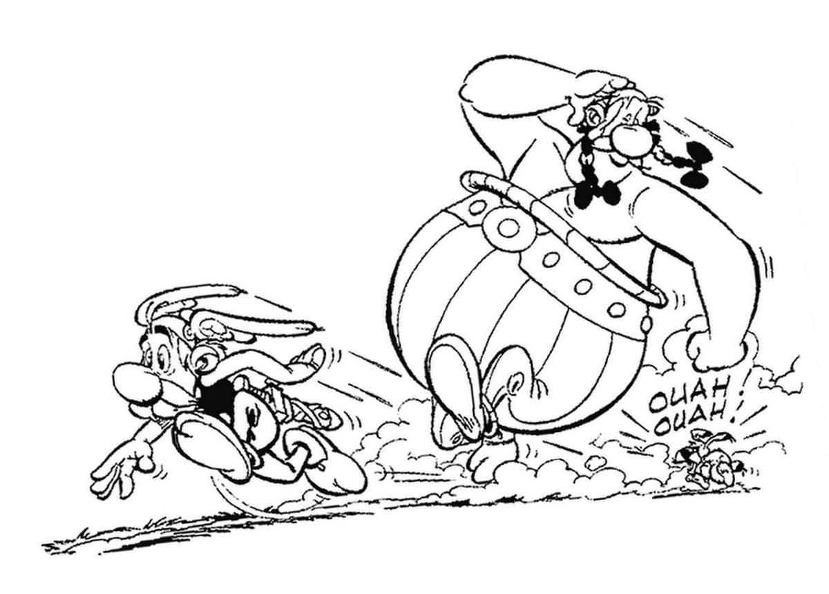 dessin d'asterix et obelix en ligne