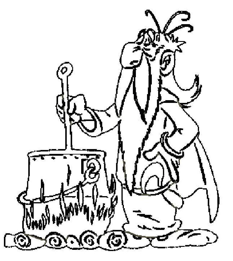 coloriage à dessiner asterix et obelix en ligne