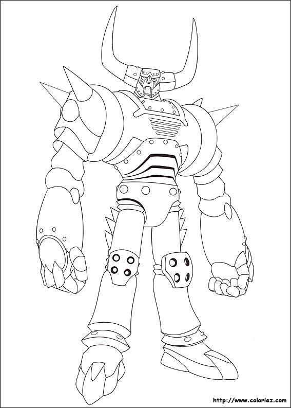 coloriage à dessiner de astro boy a imprimer
