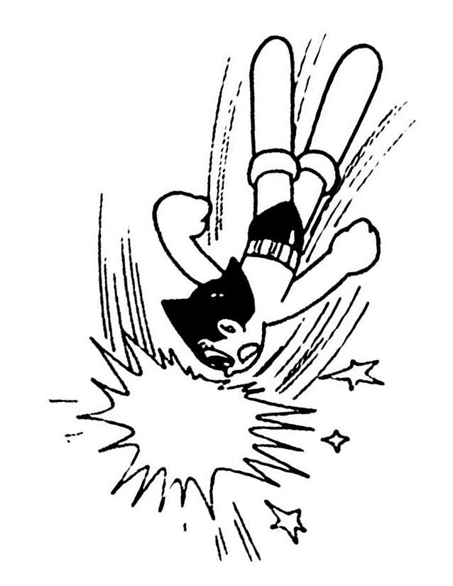 dessin astro boy gratuit