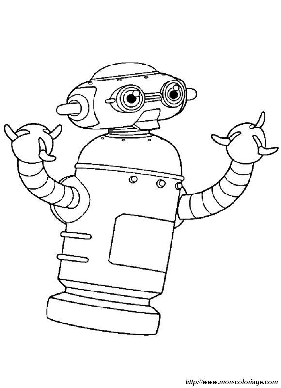 dessin à colorier astro boy gratuit