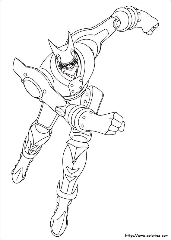 dessin à colorier astro boy imprimer