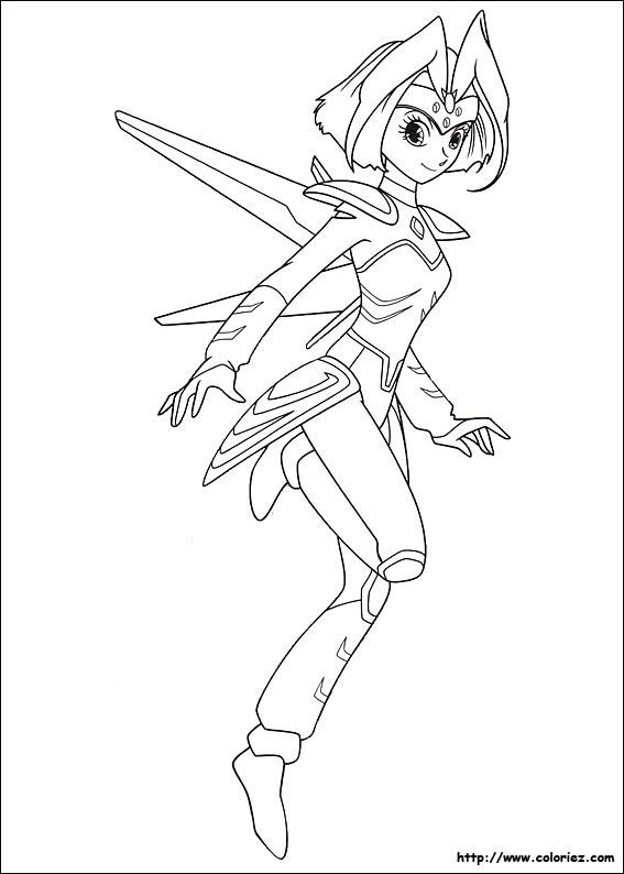 dessin à colorier astroboy