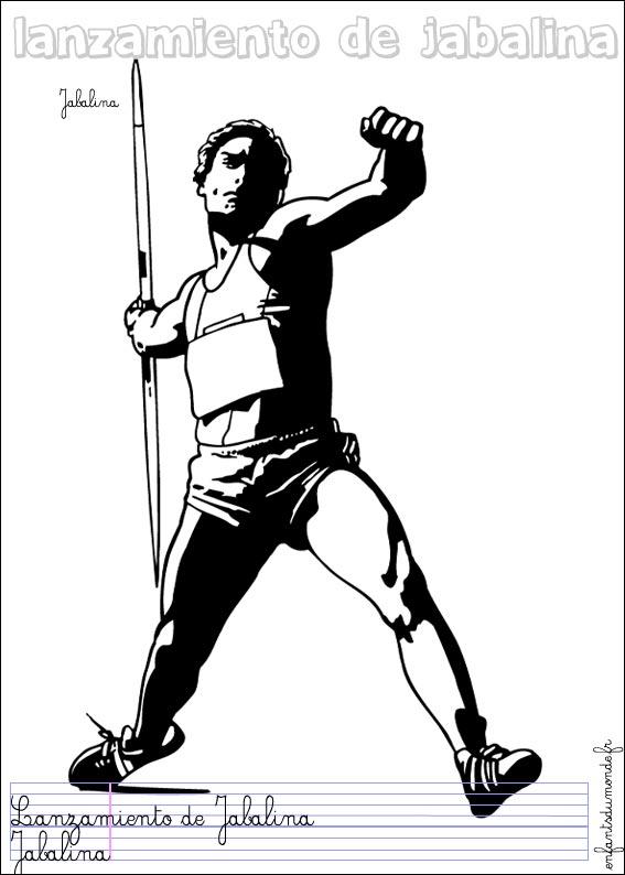 dessin athlétisme gratuit