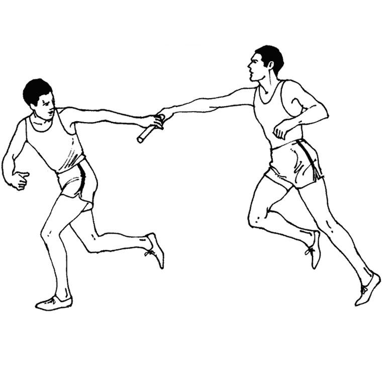 dessin athlétisme