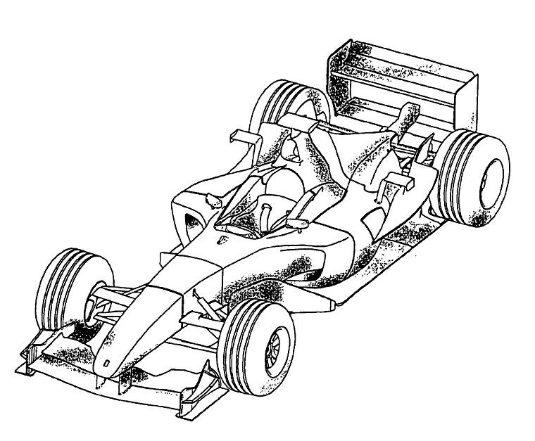 coloriage voiture de course 24h du mans