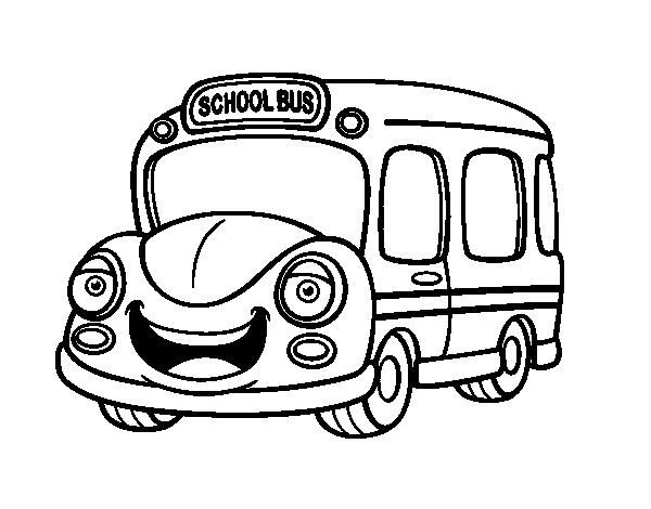 dessin à imprimer autobus
