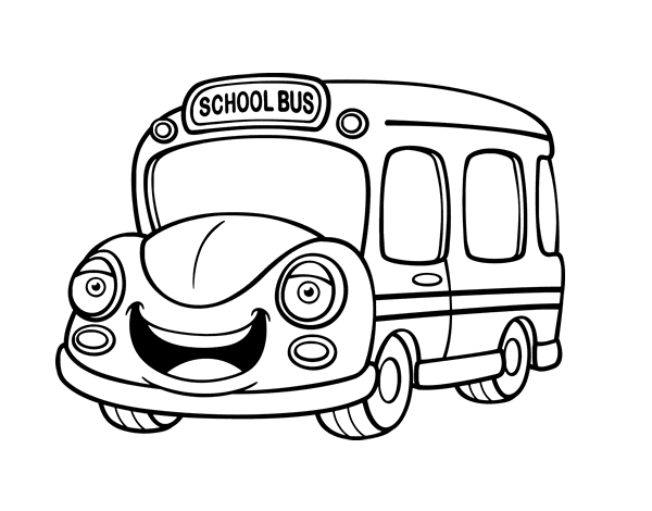 Dessin a imprimer autobus scolaire - Autobus scolaire dessin ...