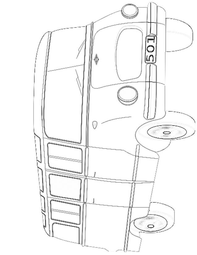dessin bus école
