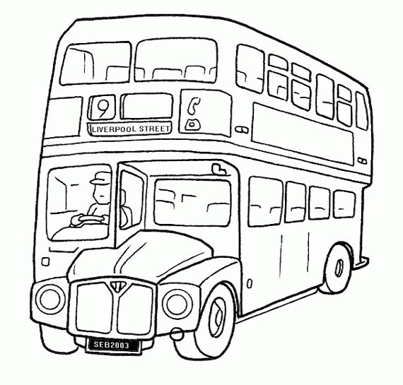 120 dessins de coloriage autobus imprimer. Black Bedroom Furniture Sets. Home Design Ideas