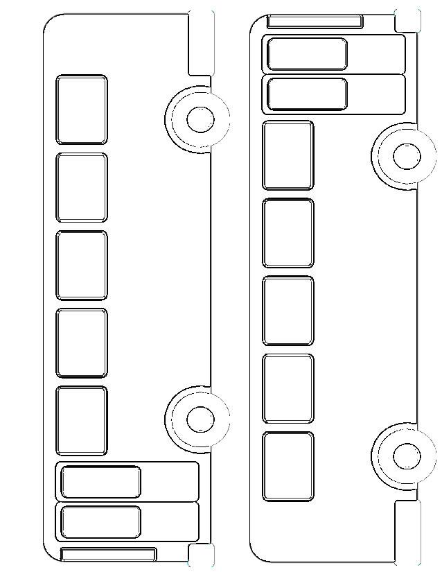 dessin de bus à imprimer