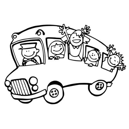 dessin de bus