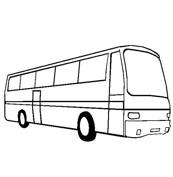 dessin d'un autobus