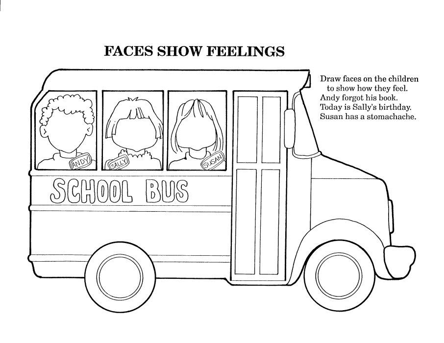 coloriage autocar