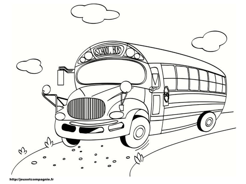 dessin bus en ligne