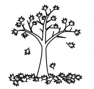 97 dessins de coloriage automne a imprimer gratuit imprimer - Arbre d automne a colorier ...