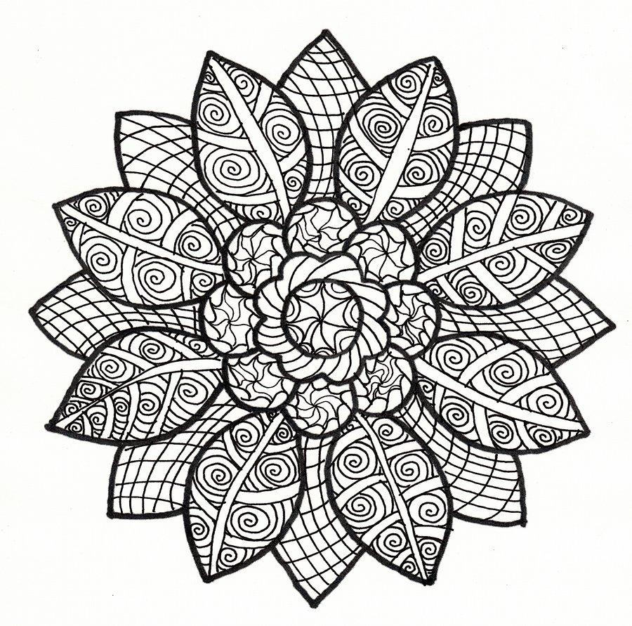 91 dessins de coloriage automne cp imprimer - Coloriage mandala printemps ...