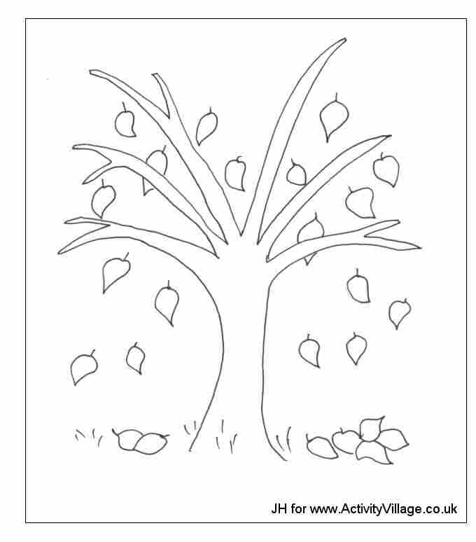 96 dessins de coloriage automne maternelle imprimer imprimer - Dessin d automne facile ...