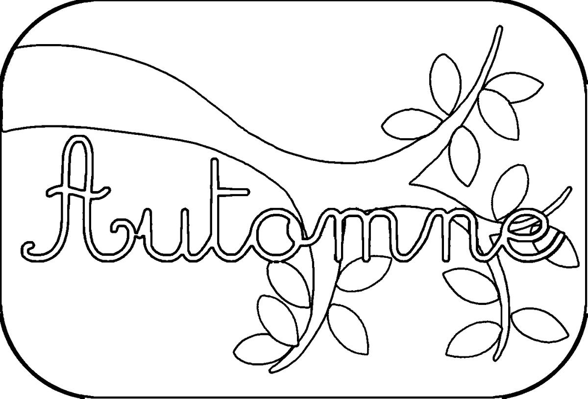 Dessin automne feuille - Feuille automne dessin ...